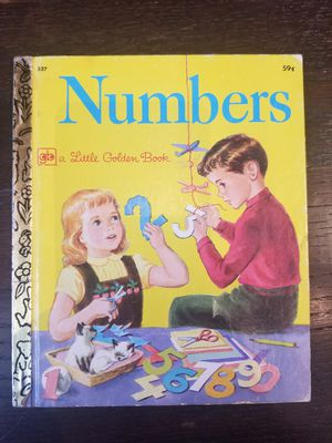 Little Golden Book #337 Numbers Twenty-First Printing 1978 for Sale in Lexington, SC