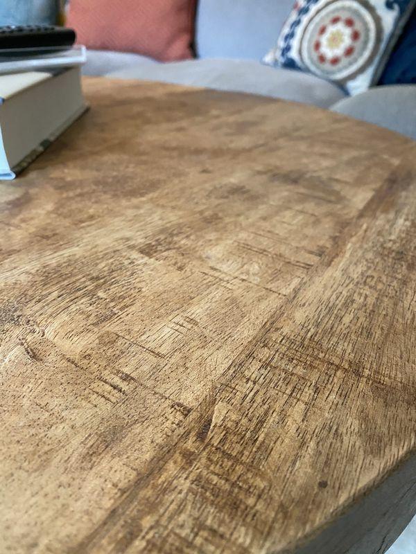 Wood Coffee Table - Living Room
