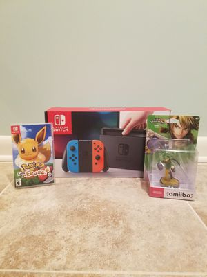 Nintendo Switch Bundle (negotiable/obo) for Sale in Freehold, NJ