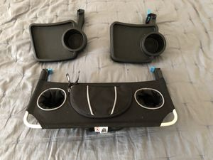 Thule Urban Glide double stoller snack trays and stroller organizer for Sale in Los Angeles, CA