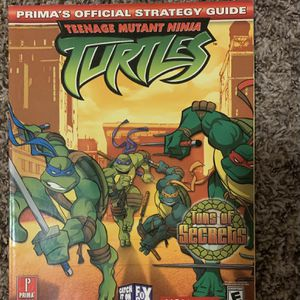 Tmnt Playstation Two Game Guide for Sale in Tigard, OR