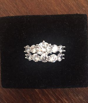 Engagement Wedding Rings Set Size 8 for Sale in Lancaster, CA