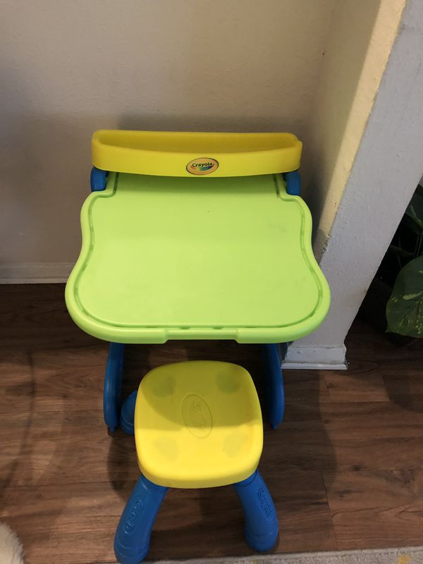 Kids table with chair+ FREE toys of your choice