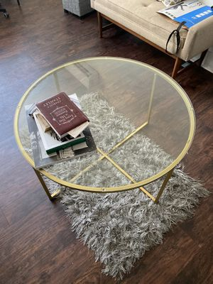 Gold Glass table for Sale in Washington, DC