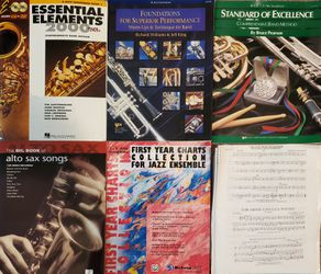 Alto saxophone books & sheet music for Sale in Portland,  OR
