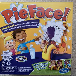 Brand New Pie Face Board Game - Fun Family Games - Silly Kids Game for Sale in Fort Lauderdale, FL