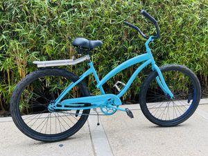 ⚡️ Cool Aqua Blue Beach Cruiser! Like new + Fresh Paint - Custom Feels ⚡️ for Sale in Newport Beach, CA
