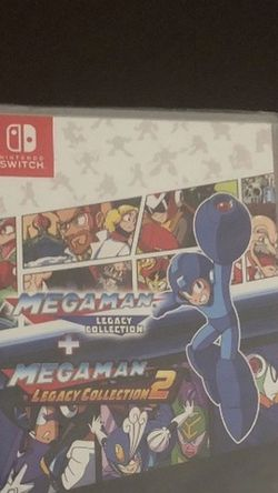 MEGA MAN LEGACY COLLECTION + 2 NINTENDO SWITCH for Sale in Lynwood,  CA