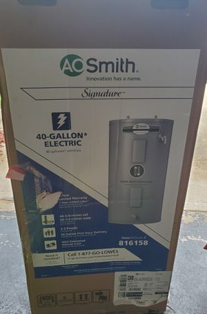 A.O. Smith Signature 40-Gallon Electric water heater for Sale in Rex, GA