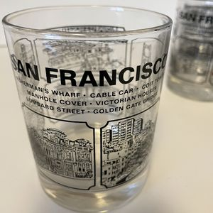 San Francisco collectible glassware, set of six for Sale in Monroe Township, NJ