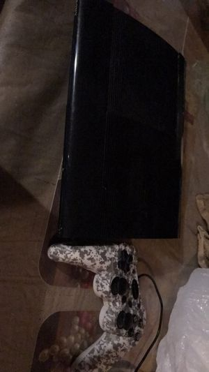 PS3 console with 8 games for Sale in Coolidge, AZ