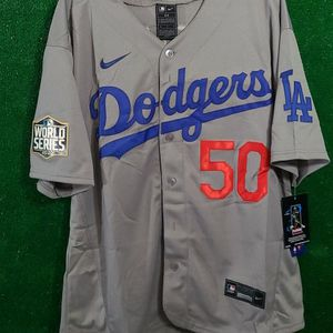 STITCHED LOS ANGELES DODGERS BASEBALL JERSEY for Sale in CA, US