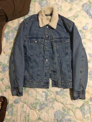 Denim trucker jacket for Sale in Alexandria, VA