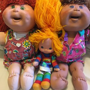 Snack Time Kids Cabbage Patch Dolls 40 Dollars Or Best Offer for Sale in Diamond Bar, CA