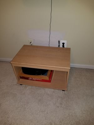 Small wood 2 shelf table for Sale in Upper Marlboro, MD