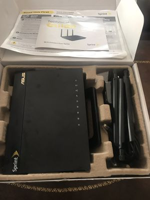 Sprint asus dual band WiFi router for Sale in San Diego, CA