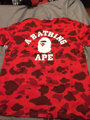 BAPE SHIRT🔥 in hand for Sale in Tampa, FL