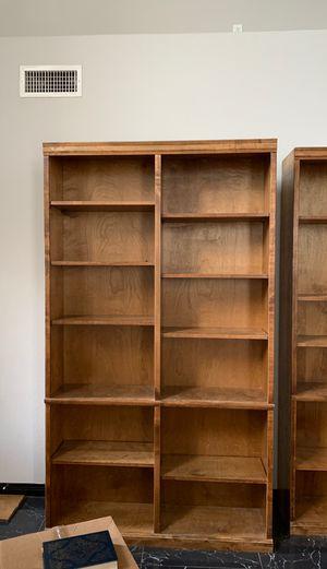bookshelves oak 7ft by 4ft for Sale in Las Vegas, NV