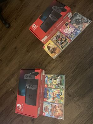 Nintendo switch bundles for Sale in University City, MO