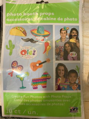 Fiesta/Mexico/tacos photo booth props for Sale in The Bronx, NY
