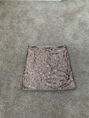Forever 21 Sequin skirt, size M for Sale in Hayward, CA
