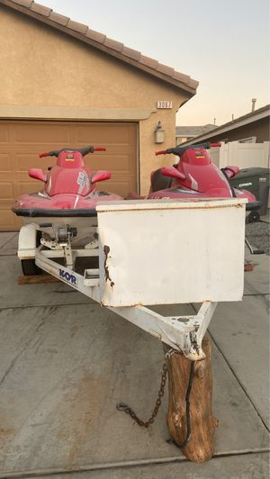Jet skies, life jackets for Sale in Perris, CA