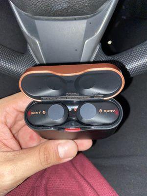 Sony WF1000XM3 wireless earbuds for Sale in Chula Vista, CA