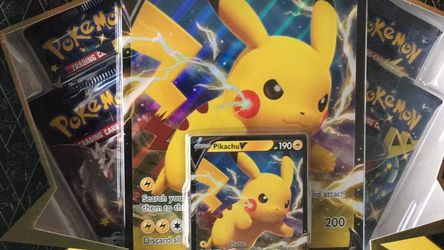 Pokémon Shining Fates Pikachu V Collection Box for Sale in Anaheim,  CA