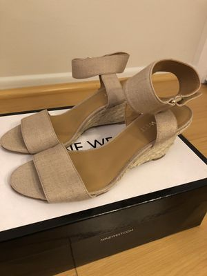 Nine West wedge sandals - size 6.5 for Sale in West Los Angeles, CA