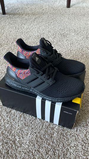 Adidas Ultraboost Miadidas Multicolor Triple Black sz 9 for Sale in Seattle, WA