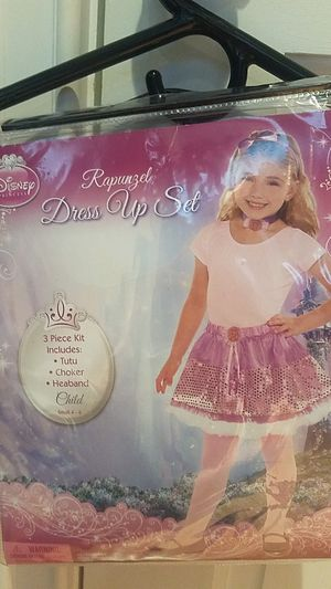 4-6 RAPUNZEL HALLOWEEN DRESS UP SET for Sale in Fairfax, VA