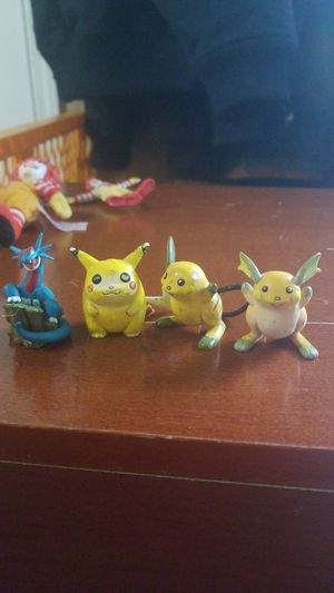Vintage pikachu figures for Sale in Canby, OR