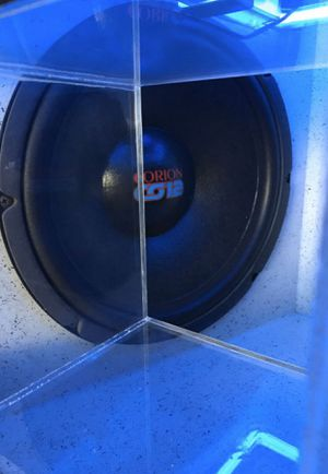"OLD SCHOOL ORION 12"" w/ light up ported box for Sale in Fontana, CA"