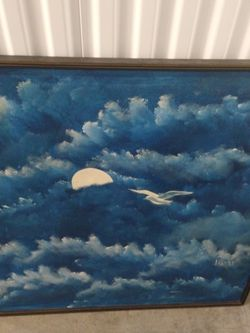 Vintage Art Painting Very Large for Sale in Portland,  OR