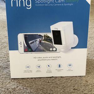 Brand New Ring Spotlight Cam for Sale in Portsmouth, VA