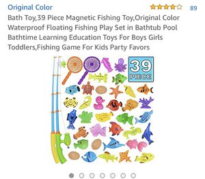 Magnetic Fishing Toy (39 pieces) for Sale in Miami, FL