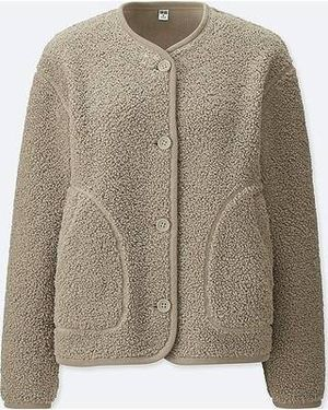 UNIQLO women's fleece collarless jacket, size XS for Sale in Chicago, IL