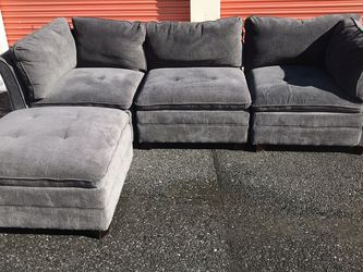 Grey Sectional Couch Sofa for Sale in Washington,  DC