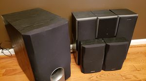 Onkyo speakers good condition for Sale in Franconia, VA