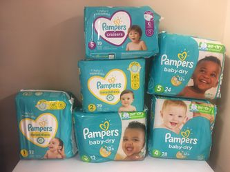 Pampers Diapers  for Sale in Mooresville, NC