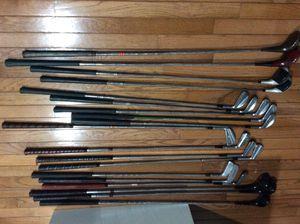 19 piece Vintage Golf Clubs for Sale in Rockville, MD