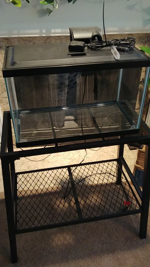 Fish tank and stand for Sale in Everett, WA