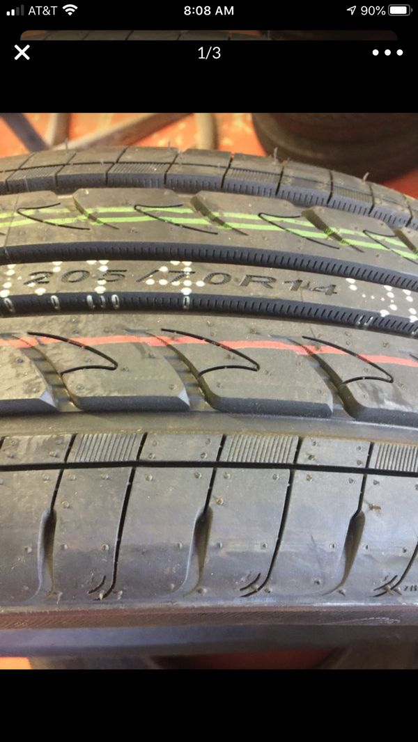 205/70R14 new tires set of 4