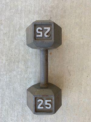 25 lb Dumbbell (single) for Sale in Fremont, CA