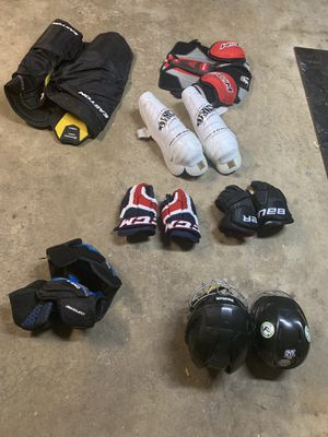 miscellaneous ice hockey equipment for Sale in Orland Park, IL