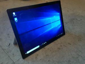 Microsoft Surface Pro, Model 1796 (FJT-00001) Intel i5, 4GB RAM, 128GB SSD, 12.3-inch PixelSense, Win10 Pro for Sale in BRECKNRDG HLS, MO