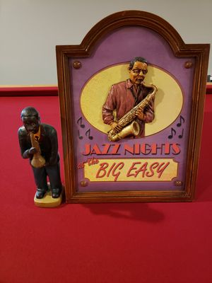 12 x 14 3D Wall Decoration and Saxophonist for Sale in Findlay, OH