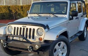 Automatic Truck 2008 Jeep Wrangler 4WDWheelss Very clean for Sale in Salem, OR