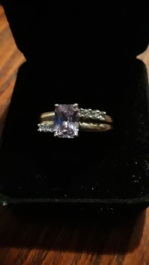 Gorgeous Sterling Silver 925 elegant Amethyst stone ring for Sale in New York, NY