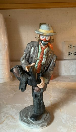 Emmett Kelly Jr Mint condition Limited Edition for Sale in Elmwood Park, IL
